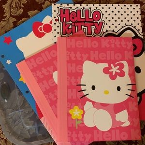 Hello Kitty Journals and Folders